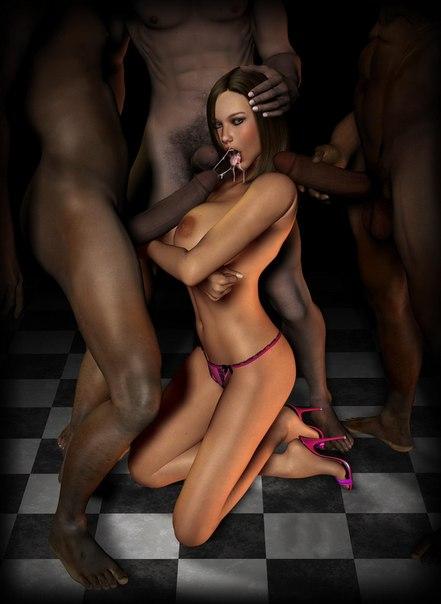 Naked cartoon women