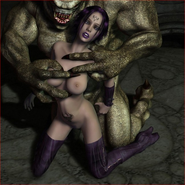 streaming 3d monster sex free