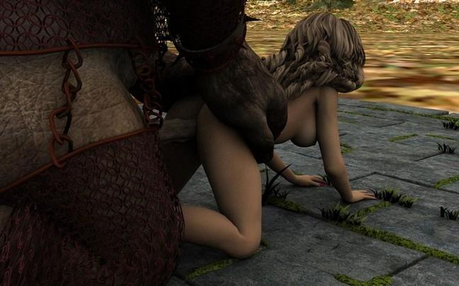 cartoon naked sex woman